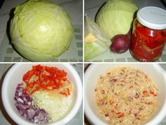 4_recept-na-zelny-salat Bob Ross, Cooking Light, Cabbage, Food And Drink, Baking, Vegetables, Desserts, Diet, Kitchens