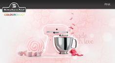 Pink #KitchenAid #StandMixer