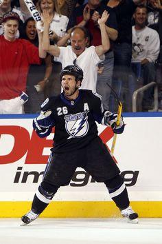 Martin St. Louis #26 Tampa Bay Lightning