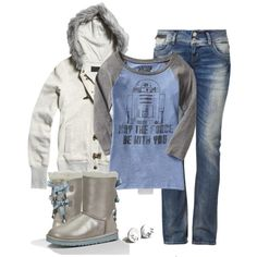Jedi casual, created by mrstiffanymayer on Polyvore