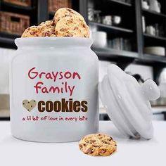 Family Cookies - Cookie Jar