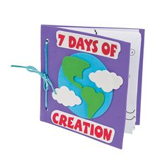 Preschool Music Camp Color Your Own Book About The 7 Days Of Creation Craft Kit - OrientalTrading.com