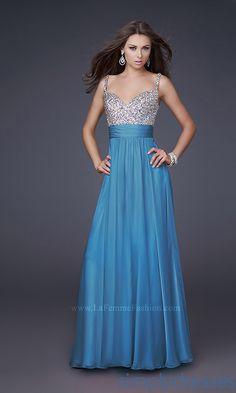 Dress, Ocean Blue La Femme Prom Dress - Simply Dresses