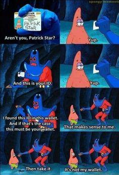 My favorite spongebob scene of all time