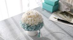 サムシングブルーのリングピロー/ギフト・プレゼント/挙式-プリザーブドフラワー・ウェディング小物のGlycine