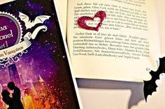Postkarte als Lesezeichen. #Cassandrawinter #lesezeichen #postkarte #vampire