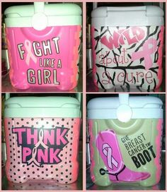 Breast Cancer Awareness Cooler