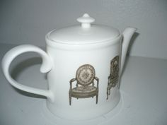 FRENCH TEAPOT  By Christopher Vine Designs by SHOPAHOLICS101, $18.00