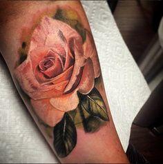Taste of Ink - Austin, TX - 512 800 6608 - Rose Tattoo