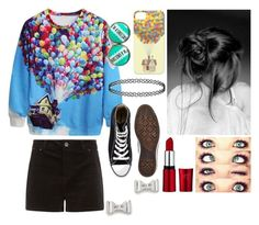"""""""Untitled #167"""" by nerdgirl070 ❤ liked on Polyvore featuring Disney, Converse and Marc by Marc Jacobs"""