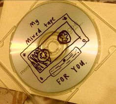 mixed tape cd cover case