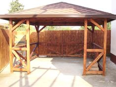Foisor lemn rustic Portal, Gazebo, Outdoor Structures, Home Decor, Kiosk, Decoration Home, Room Decor, Pavilion, Cabana