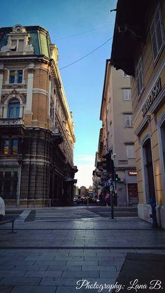 Center of the city (Rjeka, Croatia)