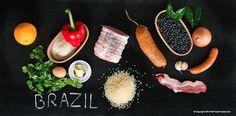 feijoada, plat brésilien national, farofa, riz, haricots noir, fèves, saucisses, rôti de porc, porc, cochon, lard, plat hivernal, plat d'hiver, repas, recette