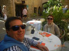 Restaurante Number 9 em Lourmarin, delícia!