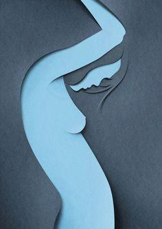 Eiko Ojalaconsegue com muita leveza e qualidade fazer incríveis artes, bastante criativas e minimalistas.