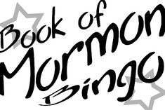Book of Mormon Bingo Game-change it up for seminary age youth. Use as lesson review, scripture mastery