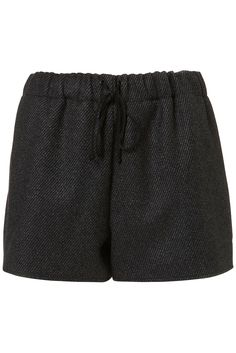 Topshop speckle wool shorts