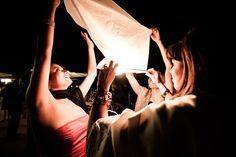 guests throw skay lantern