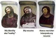 The old way (applying with CV)