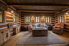 Ateliér Gabryš - Malá - velká chaloupka Western Homes, Mountain Homes, Home Interior Design, Studios, Cabin, Rustic, House Styles, Sweet, Home Decor