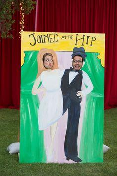 Vintage Carnival Themed Wedding|Photographer:  The Big Affair