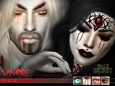 Pralinesims' [Pale Secret] ~ Vampire Collection