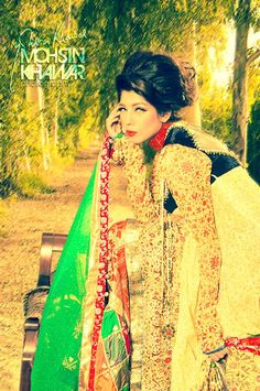 Rana Noman Stylish Marriage Wear Collection For Girls 2014
