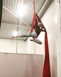 "19 Likes, 2 Comments - Caressa Hesselmann (@itscaressa) on Instagram: ""Cute little drop ✨ #monkeylife #aerialist #aerialnation #aerialsilk #aerial #silks #aerialsilks…"""