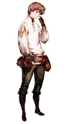 Tiz Oria - Pictures & Characters Art - Bravely Default: Flying Fairy ✤ || CHARACTER DESIGN REFERENCES | Pr?