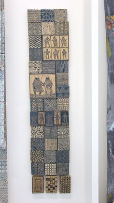 Leeds College of Art  graduate India Rose Bird has designed a collection of woodblocks and used them to print wallpapers inspired by anc...