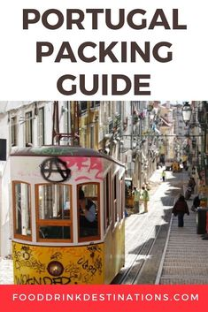 Portugal Packing List - What To Wear In Portugal | #Portugal #PortugalTravel #TravelTips #PackingTips #PackingHacks #PackingGuide