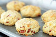 Jillian Harris Recipe: Ham & Cheese Scones