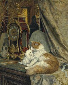 Henrietta Ronner-Knip, (1821-1909)