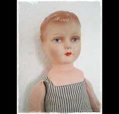 Not sure if it's German but I found this great doll once on a German board dawanda.com