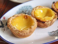 My Kitchen Snippets: Portuguese Egg Tarts