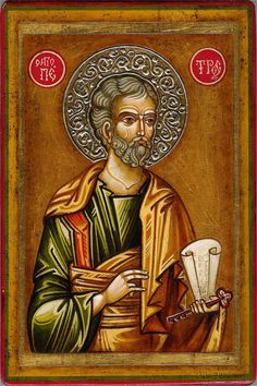 Happy Feast day of St Peter Damian – February 21 Saint Peter Damian, Order of St.) (Petrus Damiani, also Pietro Damiani or Pier Damiani) c. 1007 – to read more on Members Byzantine Icons, Byzantine Art, Religious Icons, Religious Art, Happy Feast Day, Faith Church, Church Building, Orthodox Icons, Catholic
