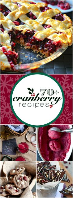 brazilian dessert recipes, pineapple dessert recipe, easy french desserts recipes - festive and delicious cranberry treat recipes! Cranberry Dessert, Cranberry Recipes, Fruit Recipes, Gourmet Recipes, Holiday Recipes, Christmas Recipes, Cranberry Bog, Cranberry Muffins, Cranberry Sauce