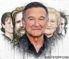 Robin Williams Tribute, Emily Stepp