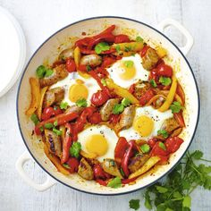 Huevos Rancheros, a delicious recipe from the new Cook with M&S app.