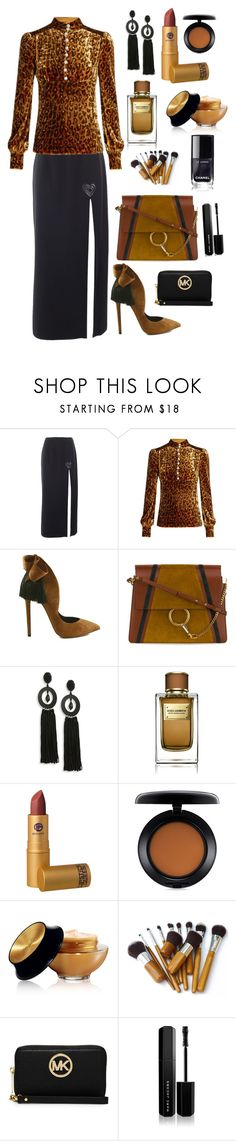 """""""CLASSIC PARTY STYLE"""" by qstyled ❤ liked on Polyvore featuring Christopher Kane, Hillier Bartley, Chloé, Oscar de la Renta, Dolce&Gabbana, Lipstick Queen, MAC Cosmetics, Yves Saint Laurent, MICHAEL Michael Kors and Marc Jacobs"""