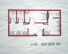 Resultado de imagen para planos de baños publicos modernos