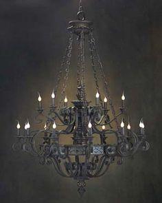 Goth glam chandelier  www.livchic.com