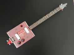 Steel Wheels Cigar Box Guitar