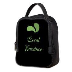 Cool Eco Green Neoprene Lunch Bag