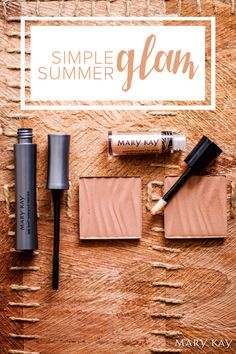 Keep it simple. Keep it glam. With makeup staples like Lash Love® Waterproof Mascara, Mary Kay® Bronzing Powder, and NouriShine Plus® Lip Gloss, you get the best of both worlds!