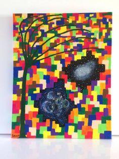 "Saatchi Art Artist Grace Douglas; Painting, ""Universal colors"" #art"