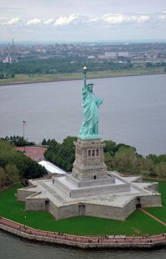 Passing by the Statue of Liberty was a bit emotional when imagining the reactions of the immigrants when they saw this.