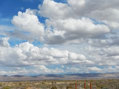 Beautiful clouds and blue skies after a week of smoke filled air. Taken Sept 21st, 2014