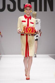 Moschino, ispirazione fast food